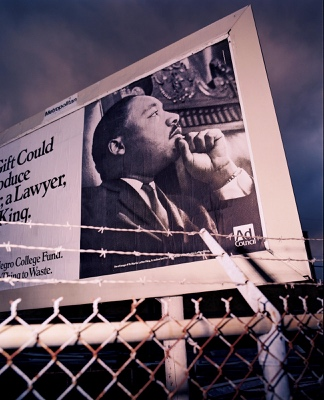 Martin Luther King DREAM billboard | New Orleans LA | 1994