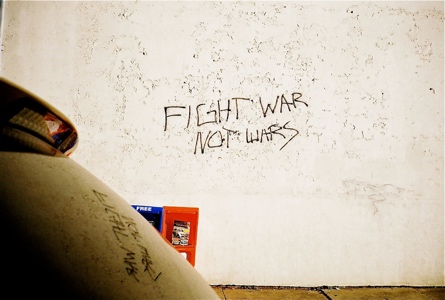FIGHT WAR NOT WARS | Augusta GA | 2012