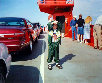 Boy on Ferry | Mobile AL | 1999